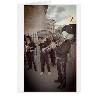 Cartão O Mariachi em Madrid carda todas as ocasiões
