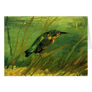 Cartão O martinho pescatore por Vincent van Gogh