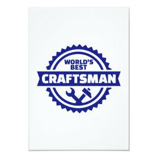 Cartão O melhor artesão do mundo