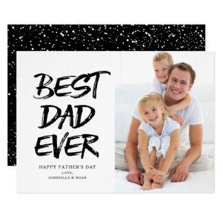 Cartão O melhor branco do pai sempre |