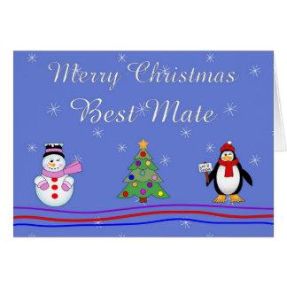 Cartão O melhor companheiro do Xmas
