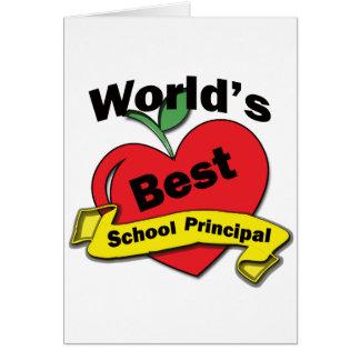 Cartão O melhor director de escola do mundo
