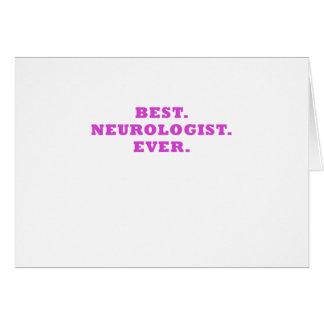 Cartão O melhor neurologista nunca