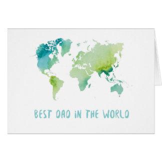 Cartão O melhor pai no mundo