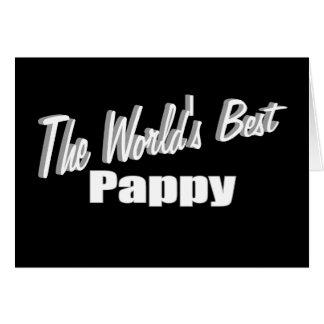 Cartão O melhor Pappy do mundo