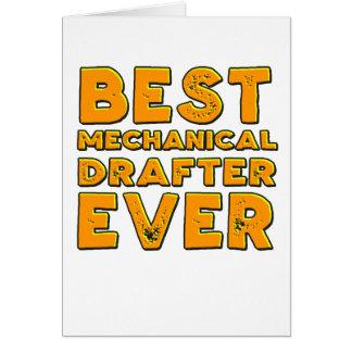 Cartão O melhor relator mecânico nunca