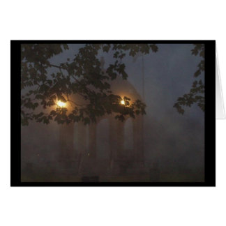 Cartão O miradouro em Salem, MÃES