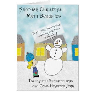 Cartão O mito gelado