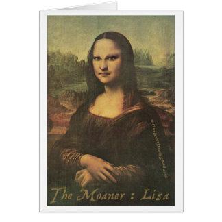 Cartão O Moaner: Lisa - Notecard