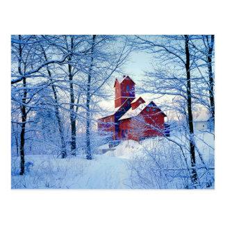 CARTÃO   o moinho vermelho velho