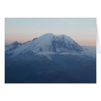 Cartão O Monte Rainier