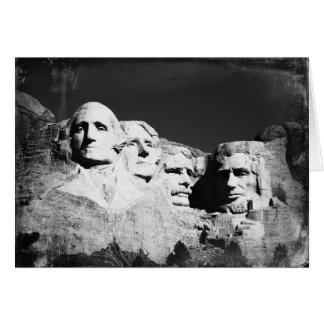 Cartão O Monte Rushmore