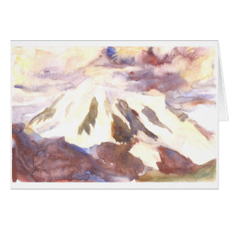 Cartão O Mt. Shuksan, enfrentando ataca junto