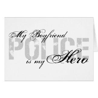 Cartão O namorado é meu herói - POLÍCIA