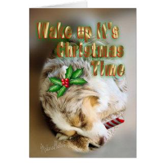 Cartão O Natal de Dixie cartão-personaliza