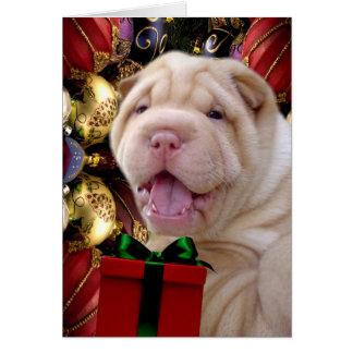 Cartão O Natal traz o céu à terra