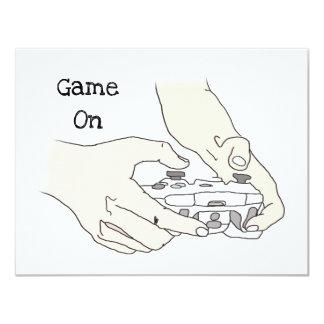 Cartão O nível engraçado do Gamer acima do humor do geek