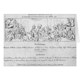 Cartão O Opera do mendigo