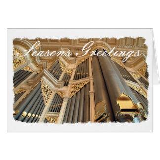 Cartão O órgão de Sydney tempera cumprimentos