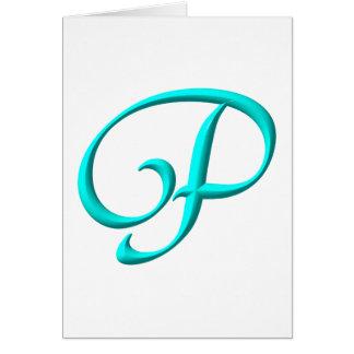 Cartão O P inicial