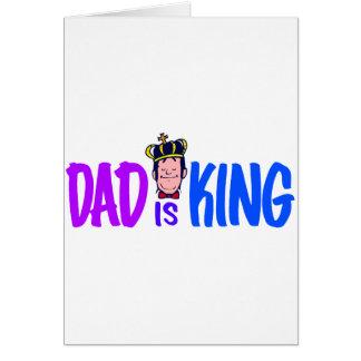 Cartão O pai é rei