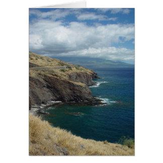 Cartão O Pali, Maui, Havaí