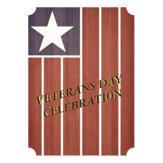 Cartão O partido do dia de veteranos de América do