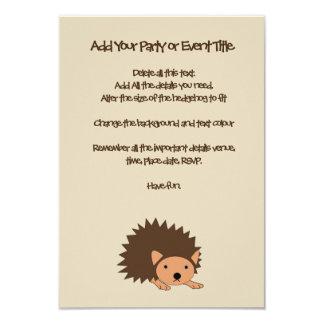 Cartão O partido ou o chá de fraldas das crianças do