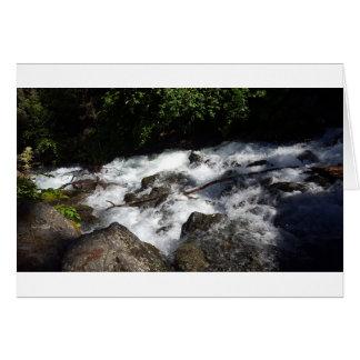 Cartão O pioneiro cai montículo Alaska
