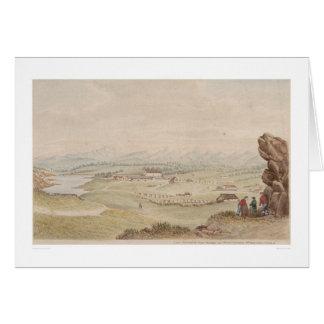 Cartão O Presidio e o povoado indígeno de Monterey (1104)