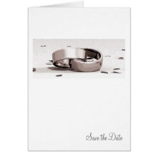 Cartão O preto entrelaçado senhores dos anéis salvar o