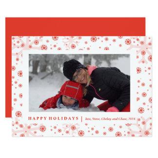 Cartão O quadro de Winterland carda o NATAL de |