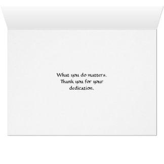 Cartão O que você faz matérias. ~ 22