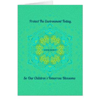 Cartão O #Resist protege a mandala do Anti-Trunfo do