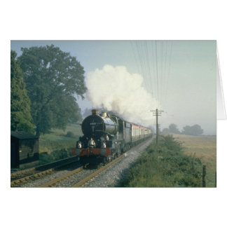 Cartão O retorno do BR dos trabalhos do rei George V ao