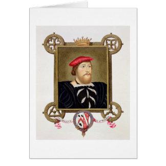 Cartão O retrato de 1477-1539) condes de Thomas Boleyn