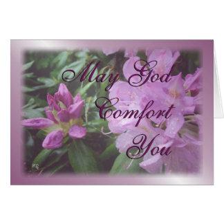 Cartão o rododendro inspirado-personaliza