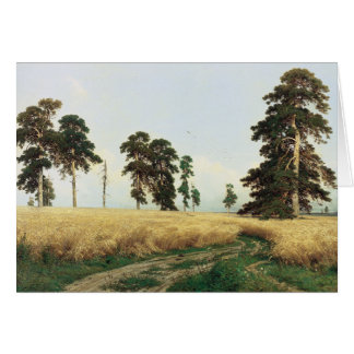 "Cartão O ""Rye "" de Shishkin"