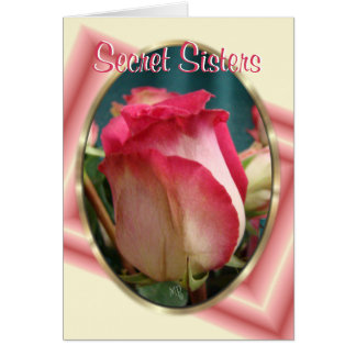 Cartão O segredo Irmã-personaliza