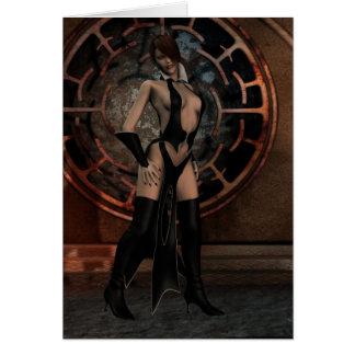 Cartão O Sorceress escuro