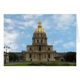 Cartão O túmulo de Napoleon
