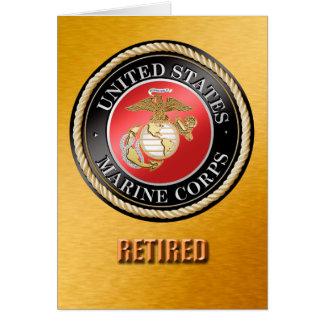 Cartão O USMC aposentado carda