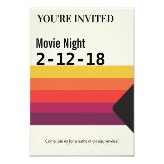 Cartão O video tape de VHS dos anos 80 retros da noite de