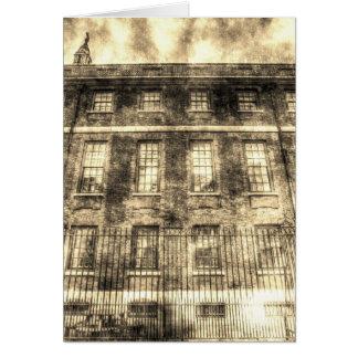 Cartão O vintage de Londres da casa do capítulo