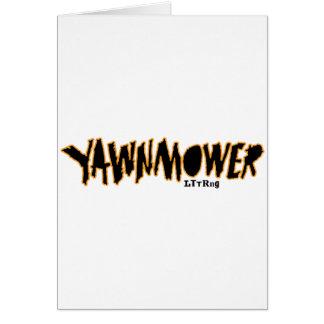 Cartão O YaWNMoWeR ORIGINAL ®1993