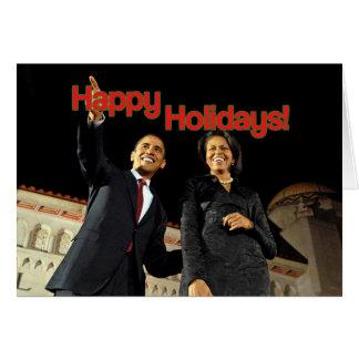 Cartão Obama boas festas