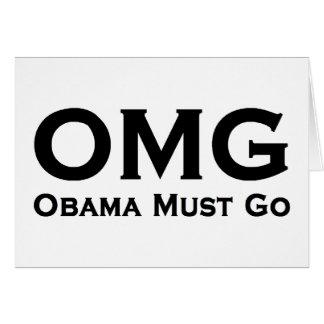 Cartão Obama deve ir anti Obama