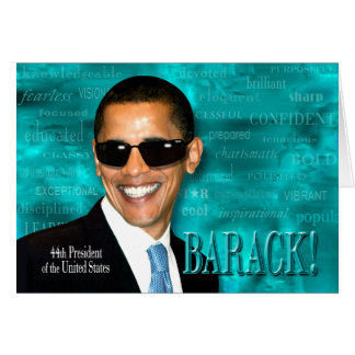 Cartão Obama legal