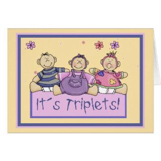 Cartão Objectivas triplas de It´s