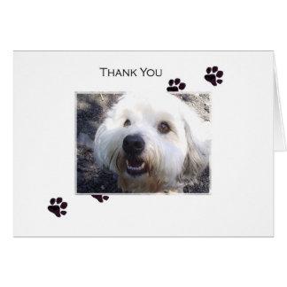 Cartão Obrigado